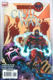 Civil War House Of M #1 (2008) Marvel comic book
